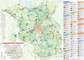 Brandenburg touristische karte