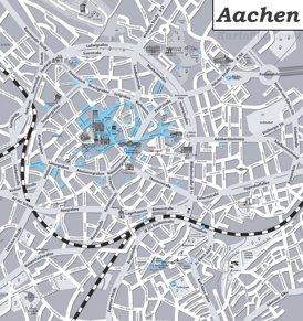 Aachen Innenstadtplan