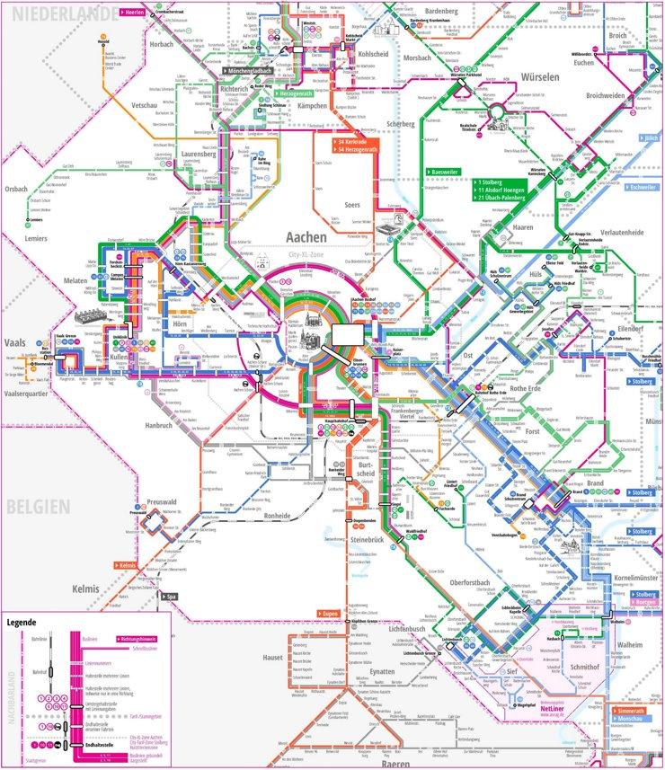 LinienNetzPlan Aachen