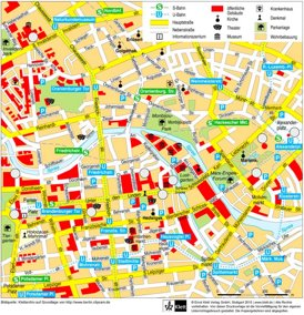 Berlin Innenstadtplan