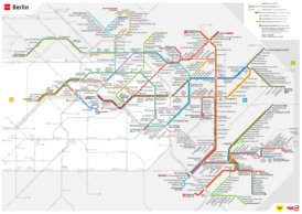 Berlin Straßenbahn plan