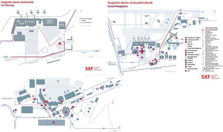 Flughafen Berlin-Schönefeld Plan