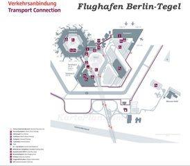 Flughafen Berlin-Tegel Plan