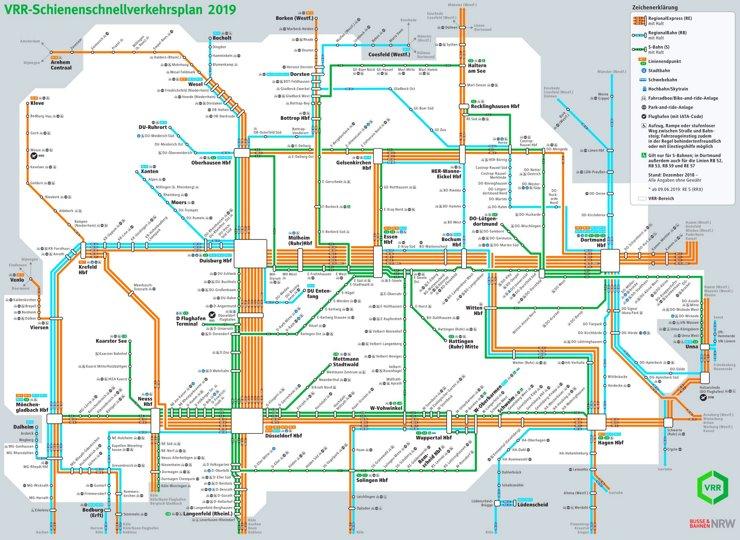 Schnellverkehrsplan VRR