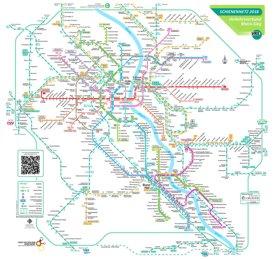 Schienennetzplan Köln - Bonn