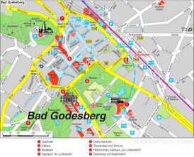 Stadtplan Bad Godesberg - Bonn