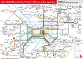 LinienNetzPlan Braunschweig