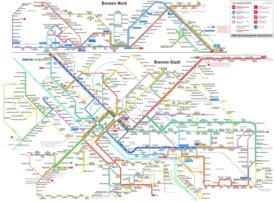 Bremen Straßenbahn plan