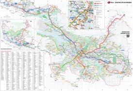 Stadtnetzplan Bremen