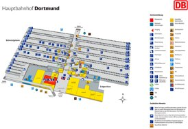 Dortmund Hauptbahnhof plan