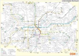 Liniennetzplan Dortmund