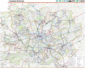 Linienplan Dortmund