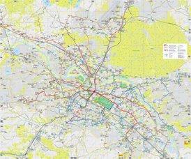 Linienplan Dresden