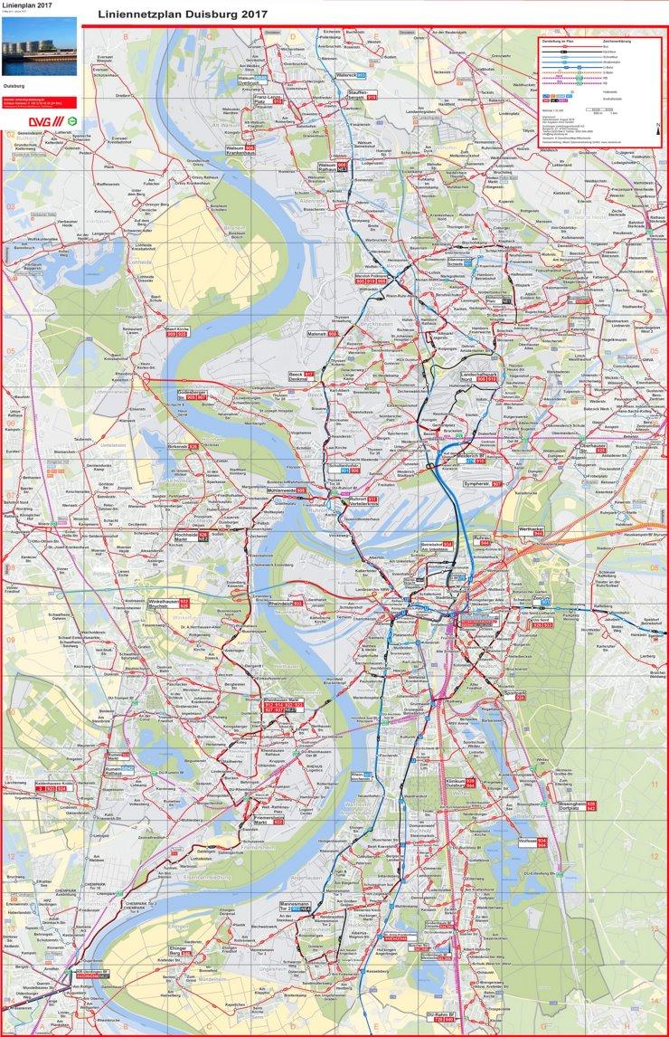 LinienPlan Duisburg