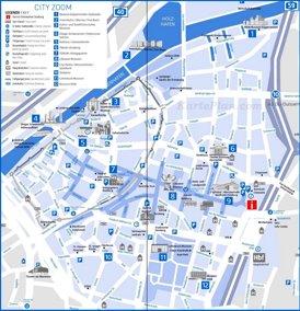 Stadtplan Duisburg mit sehenswürdigkeiten