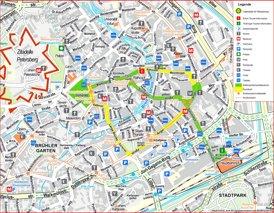 Erfurt Innenstadtplan