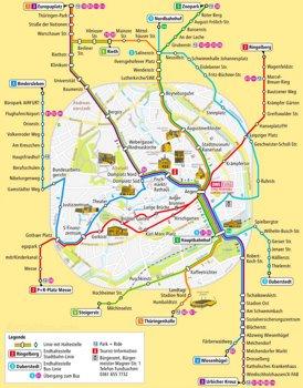 LinienPlan Erfurt