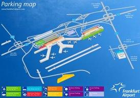 Flughafen Frankfurt am Main Parkplan
