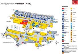 Frankfurt am Main Hauptbahnhof plan