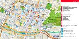 Stadtplan Freiburg im Breisgau mit sehenswürdigkeiten