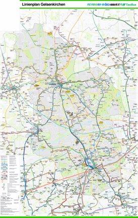 LinienPlan Gelsenkirchen