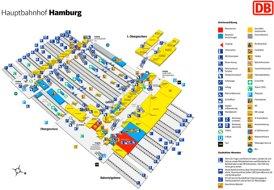 Hamburg Hauptbahnhof plan