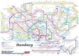 Hamburg Metrobus Plan