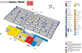 Hamm Hauptbahnhof plan