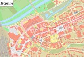 Karte von Hamm-Innenstadt