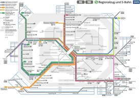 Hannover S-Bahn plan