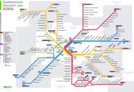 Hannover Straßenbahn plan