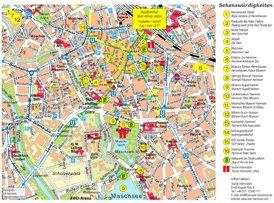 Stadtplan Hannover mit sehenswürdigkeiten