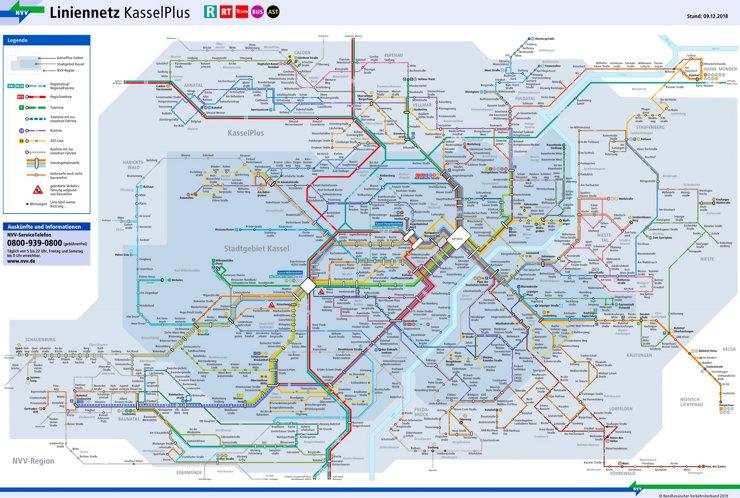 LinienNetzPlan Kassel