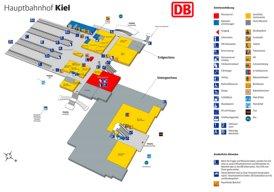 Kiel Hauptbahnhof plan