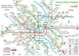 Köln S-Bahn und U-Bahn plan