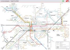 LinienNetzPlan Krefeld