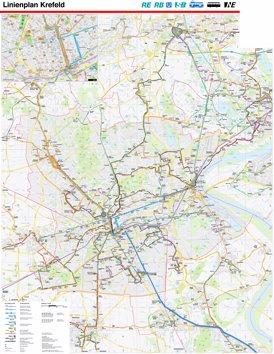 LinienPlan Krefeld