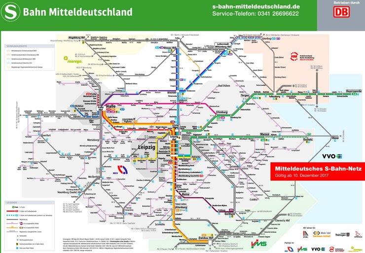 Leipzig S-Bahn Plan
