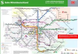 Leipzig/Halle S-Bahn Plan