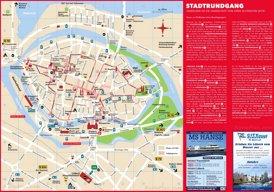 Stadtplan Lübeck mit sehenswürdigkeiten