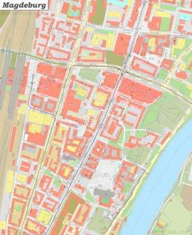 Karte von Magdeburg-Altstadt