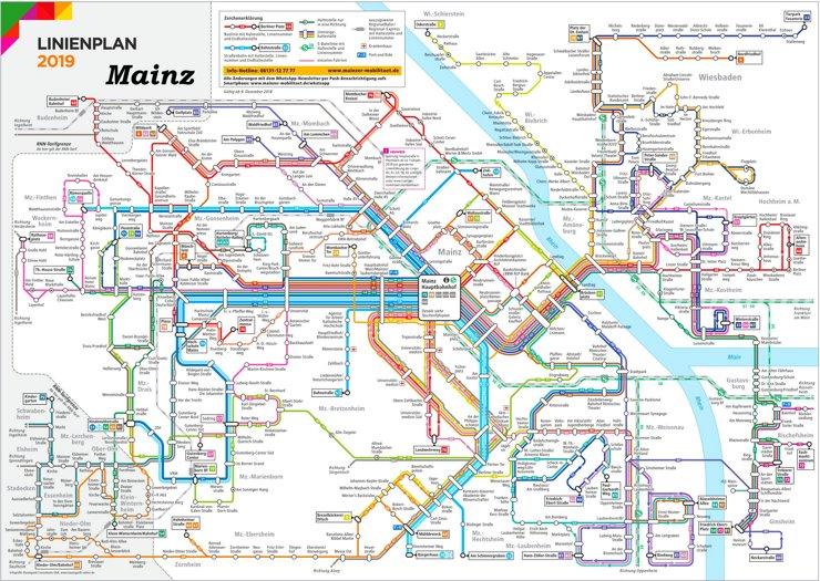 LinienNetzPlan Mainz