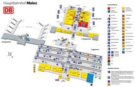 Mainz Hauptbahnhof plan