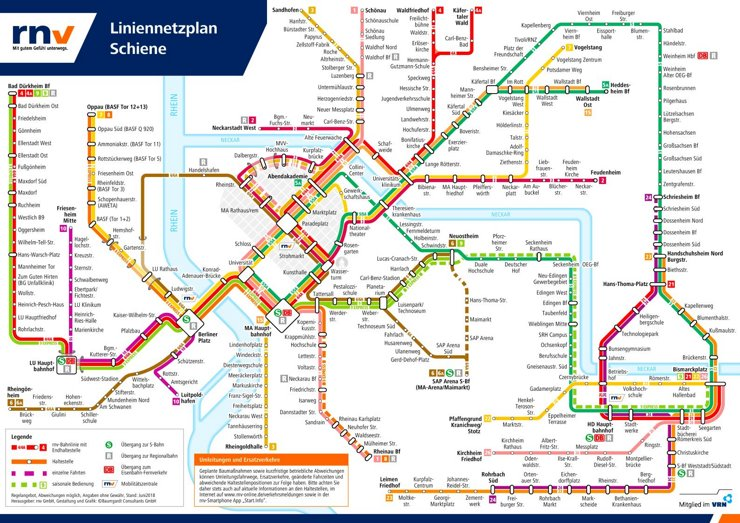 LinienNetzPlan Mannheim