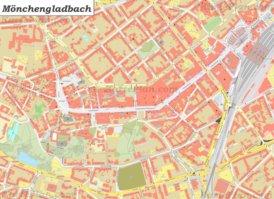 Karte von Gladbach