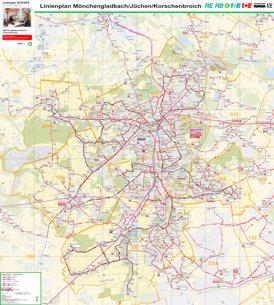 LinienPlan Mönchengladbach