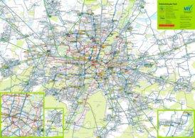 München Verkehrslinienplan