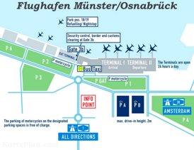 Flughafen Münster/Osnabrück Plan