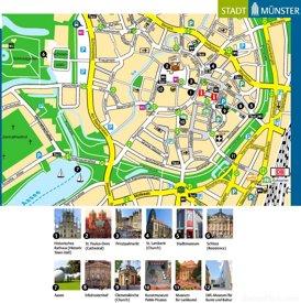 Münster Innenstadtplan