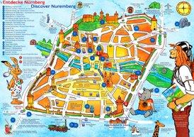 Kinderstadtplan Nürnberg
